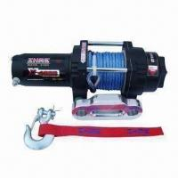 Auto Winch with 4,000lbs Rated Line Pull and 198:1 Gear Ratio