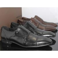 China Louis Vuitton Men Calfskin Leather Shoes on sale