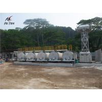 China Steel Plate 35m3 Asphalt Heating Tank For Asphalt Batching Plant 7 Tons Weight on sale