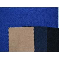 China 148 cm Winter Coat Wool Blend Fabric , 22% Wool 12% Silver Silk 66% Polyester dm003 on sale