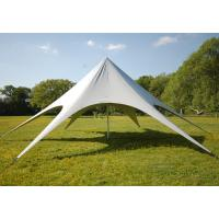Best Custom Fashion Large advertising Star Canopy Tent with Single layer wholesale