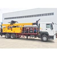 Best DTH Truck Mounted Water Well Drilling Rig Machine 600m Full Hydraulic Type wholesale