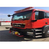 China DN65 SS304 8 Crew 90km/H  30L/s Fire Fighting Truck on sale