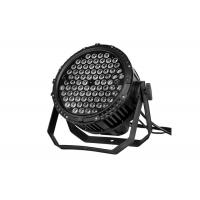 IP65 Waterproof High Power LED Par Can Lights Outdoor Stage Lighting 84 * 3W