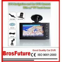 Best Portable HD720P Vehicle Car Camera 4.3Inch TFT Display with GPS Function / Track Recording wholesale