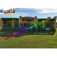Best EN71 Awasome Sports Games Inflatable Corn Laser Maze  With Digital Painting Farm wholesale