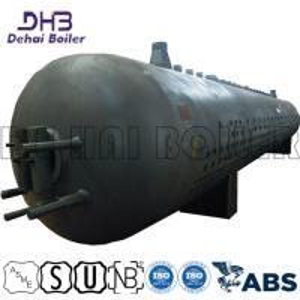 China Power Station Naturally Circulated Boiler Steam Drum Medium High Pressure Horizontal on sale