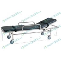 Best Backrest adjustable stainless steel ambulance stretcher with opening circles wholesale