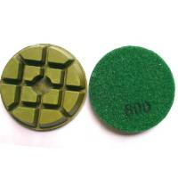 Cheap Typhoon 3 Inch Concrete Polishing Pads for sale