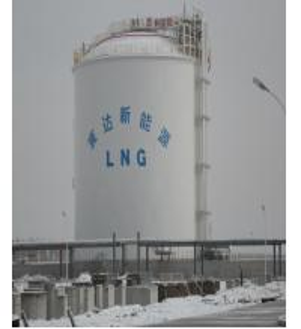 China Ammonia Storage Tank Cryogenic Process Engineering EPC Project 50000m3 on sale