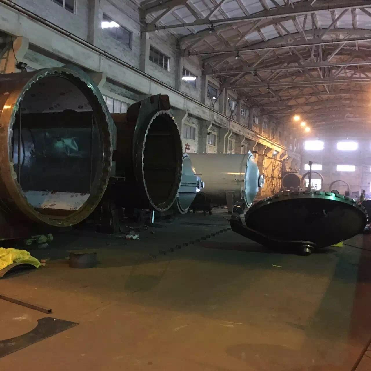Best Wood Autoclave With Safety Interlock , Automatic Control High Temperature And High Pressure wholesale