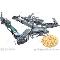Best Henan GELGOOG Fresh Potato Chips Production Line Making French Fries High Automation wholesale