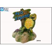 Best Household Eco Friendly Unusual Large Fish Tank Ornaments Decoration With Notice Signs wholesale