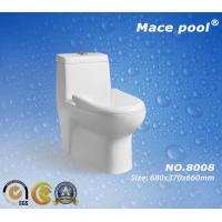 Best Mace Pool Brand Siphonic Ceramic One-Piece Toilet (8008) wholesale