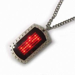 Best 2015 new fashion Flash pet LED name tag wholesale