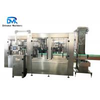 China 12kw Soda Bottling Machine Automatic Bottle Filling And Capping Machine on sale
