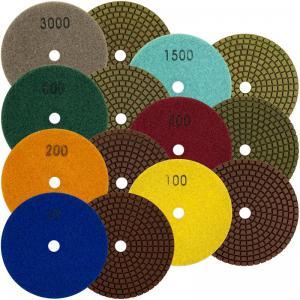 Best Durable Diamond Polishing Pads , High Efficiency Diamond Terrazzo Polishing Pads wholesale