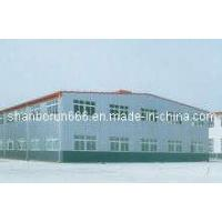 China Pre Engineered Steel Framed Warehouse Buildings 2500m2 to Australia on sale