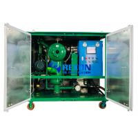 Best 2000LPH Double Vacuum Oil Purifier for Insulating Oil Filtration Treatment wholesale
