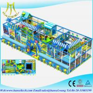 China Hansel kids naughty castle indoor playground kids mini houses sale on sale