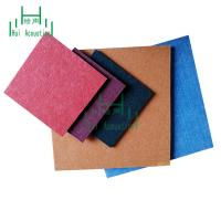 China Polyester Fiber Acoustic Panel Sound Insulation Decorative Wall Tile Polyester Fiber Sound-Absorbing Board on sale