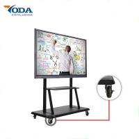 Cheap 220-500 Watt LCD Interactive Touch Screen With 10 Simultaneous Touch Points for sale