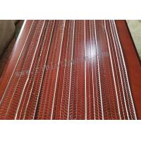 Best JF0508 610mm Width Rib Lath Mesh Galvaninzed Plate 2.13m Length 0.3mm Thickness wholesale