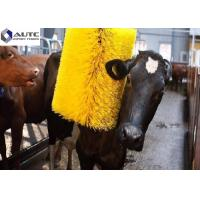 Best Farm Automatic Swing Cattle Scratching Brush Massager With Motor Yellow Green wholesale