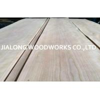 Best Crown Cut Sliced American Cherry Wood Veneer Sheet For Interior ecoration wholesale