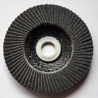 Best Silicon Carbide Abrasive Flap Discs Conical For Angle Grinders Fiberglass Base wholesale