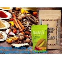 Buy cheap SIDE GUSSET COFFEE BAGS,STAND UP COFFEE BAGS,KRAFT PAPER COFFEE BAGS Foil Zip from wholesalers