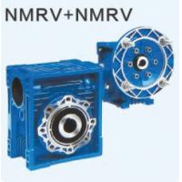 China Ratio 10~900 Double Reduction High Accurate Worm Gear Speed Reducer with Motor Mounted on sale