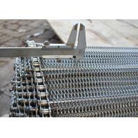 Best 1.6m Stainless Steel Wire Mesh Conveyor Belt , Metal Mesh Conveyor Belt wholesale