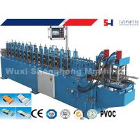 Best Rolling Shutter Slat Sheet Metal Roll Forming Machines With Automatic Punching / Cutting wholesale
