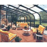 Buy cheap Powder coated surface treatment white glass sun rooms with laminated glass, low from wholesalers