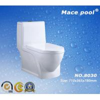 China Water Saving Siphonic One-Piece Closet Ceramic Toilet for Bathroom (8030) on sale