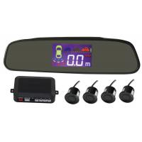 Best Wireless LCD Rear View Mirror Display Reverse Radar Car Parking Sensors System wholesale