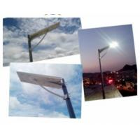 25W Integrated Solar Street Light With Inbuilt Battery , Camera Supported