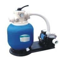 Best Swimming Pool Fiberglass Sand filter + pump filtration set wholesale