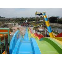 Best Fiberglass Aquatic Aqua Park Equipment , Adults / Kids Water Games wholesale