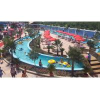 Buy cheap 1.2m Colorful Resort Lazy River Magnificent Durable For Water Park from wholesalers