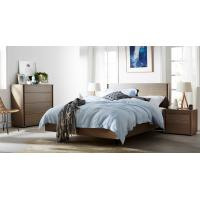 Best Apartment Furniture Modern design Bedroom sets of Single Bed with Nightstand and Drawer Chest wholesale