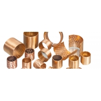 Best High Temperature Resistance Flanged Bronze Bushings With Oil Pockets wholesale