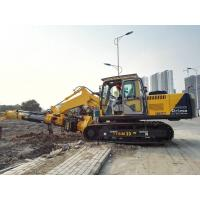 Pile Foundation Equipment , Hydraulic Rotary Piling Rig Construction Pile Driver