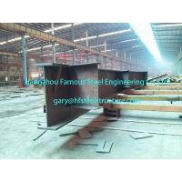 Best Customized Industrial Prefabricated Steel Buildings W Shape Steel Rafters wholesale