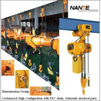China Light Duty 2 Ton Electric Hoist Mechanical Engine Lifting Chain Hoist on sale