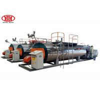 Best Automatic Fire Tube Gas Fired 1Tons Industrial Steam Boiler for Textile / Chemical / Food and Brewery wholesale
