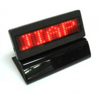 Best Red light Led scrolling message display panel with base wholesale