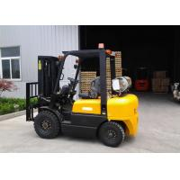 Best Dual Fuel Forklift Industrial Forklift Truck ,  3000MM Lifting Height Propane Tank Forklift wholesale