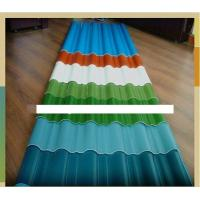 Best Colored Corrugated Carbon Steel Coil Roofing Sheet / Panel , AISI , ASTM wholesale